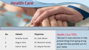 Precise Healthcare Signage