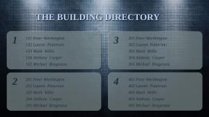 Opulent Directory Sign (Plaid)