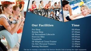 Patchy Gym Sign (Aqua)